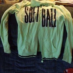 Hoodie jacket justice girl 16